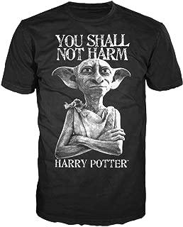 Dobby Shall Not Harm Mens Black T-Shirt
