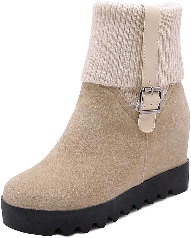 CularAcci Women High Heel Autumn Short Boots