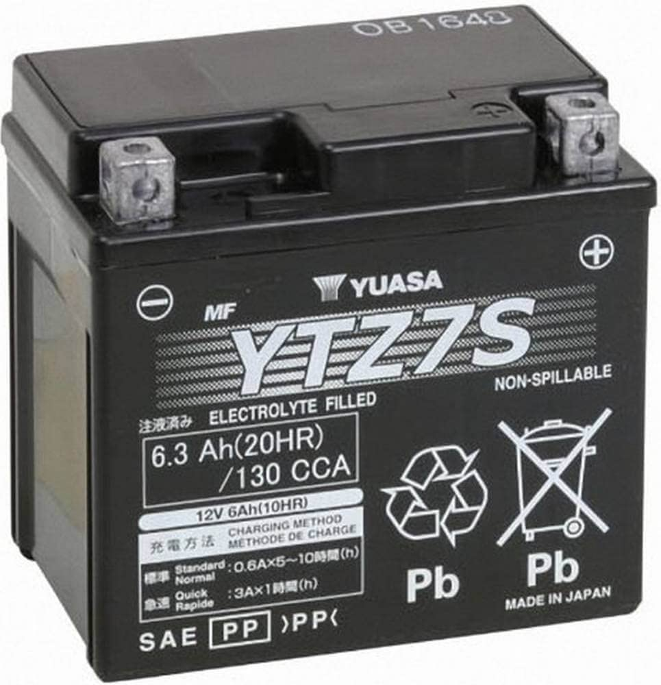 Batterie AGM Husqvarna TE 2504T 2003–2007YUASA YTZ7S 12V 6AH
