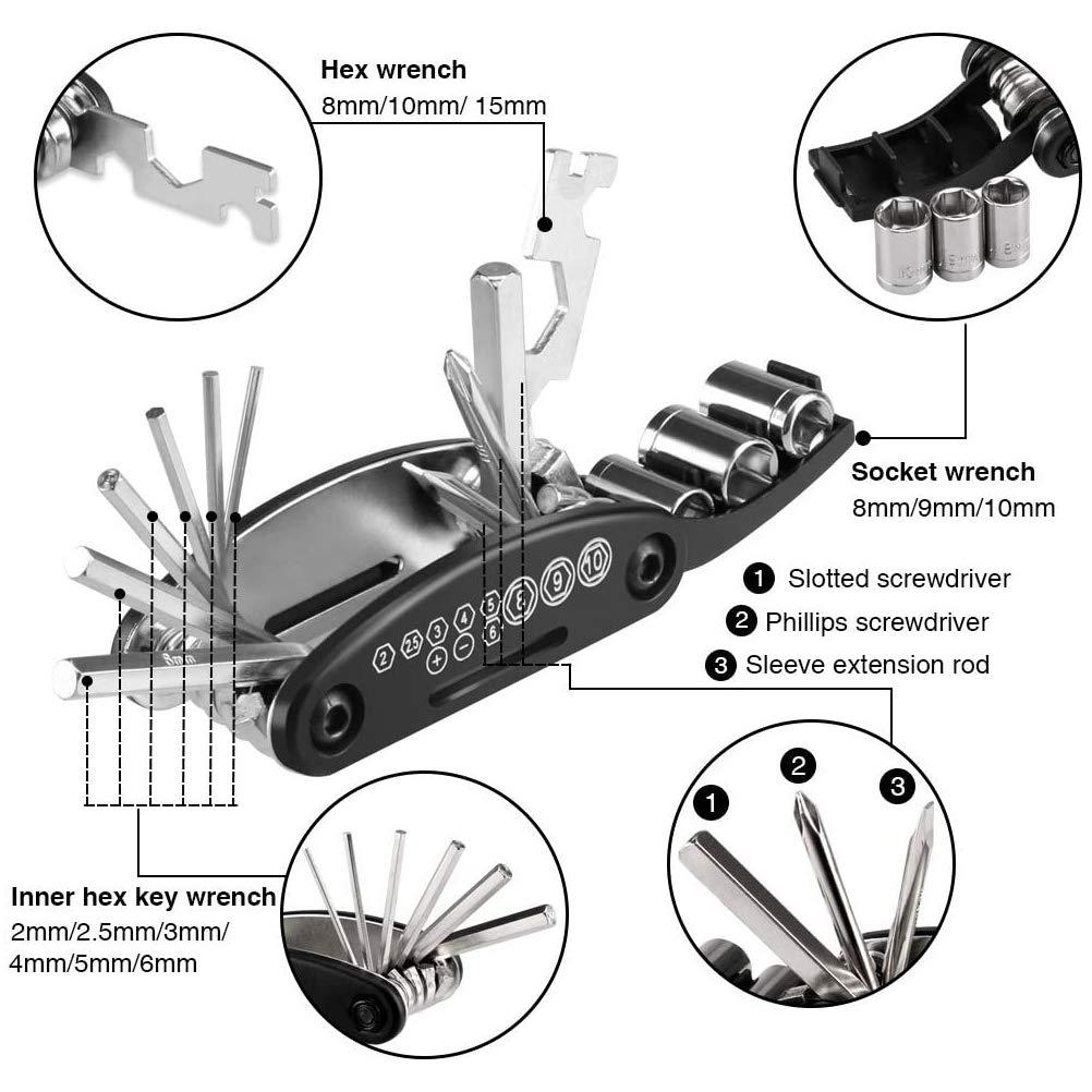 Knowooh Kit de reparación multifunción 16 en 1 para Reparaciones ...