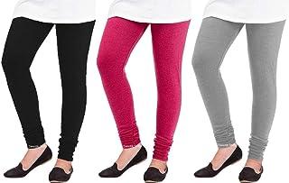 Swastik Stuffs Woolen Leggings Combo Offer for Women |Churidar Woolen Leggings for Girls| Winter Wear Warm Leggings Combo ...