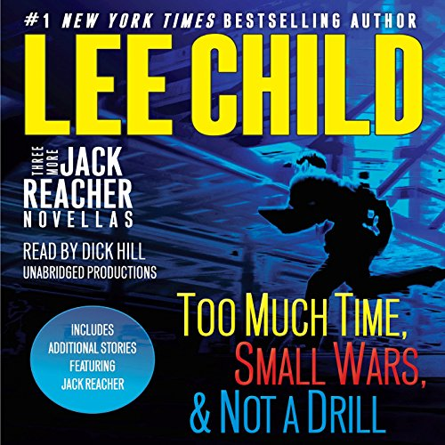Three More Jack Reacher Novellas audiobook cover art
