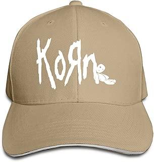 Korn Band Logo Peaked Baseball Cap Snapback Hats