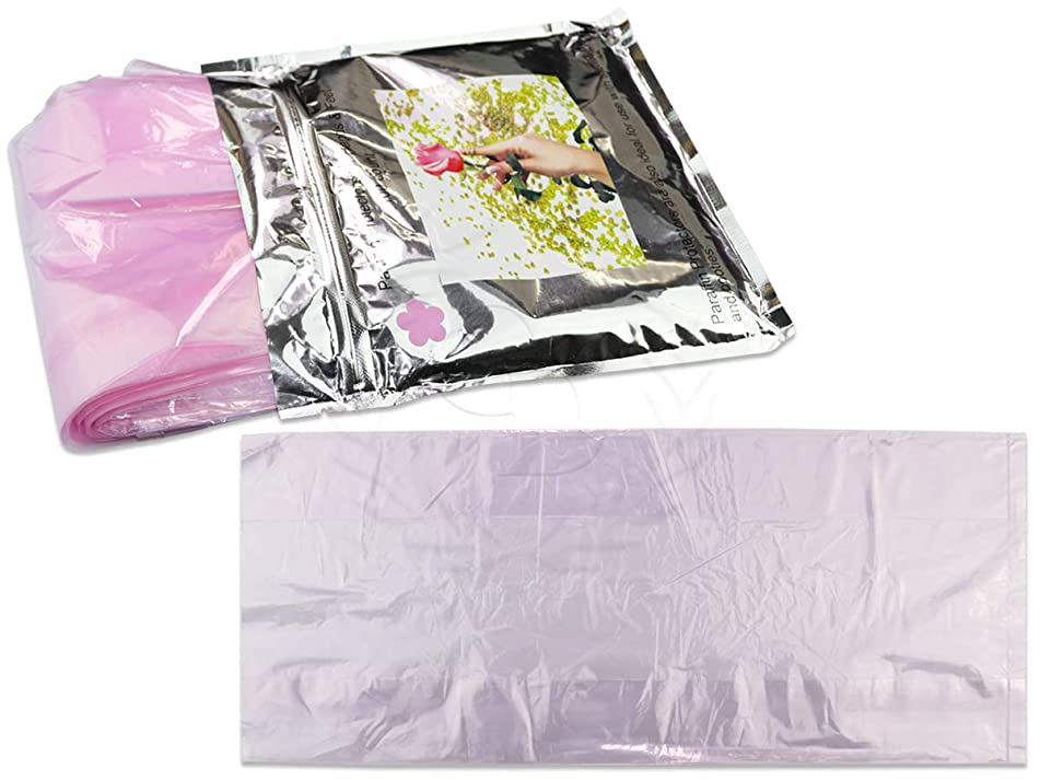 Pro-Liners (Quantity: 100 Counts) PINK Color Cozie Liners Hand or Foot for Paraffin Wax