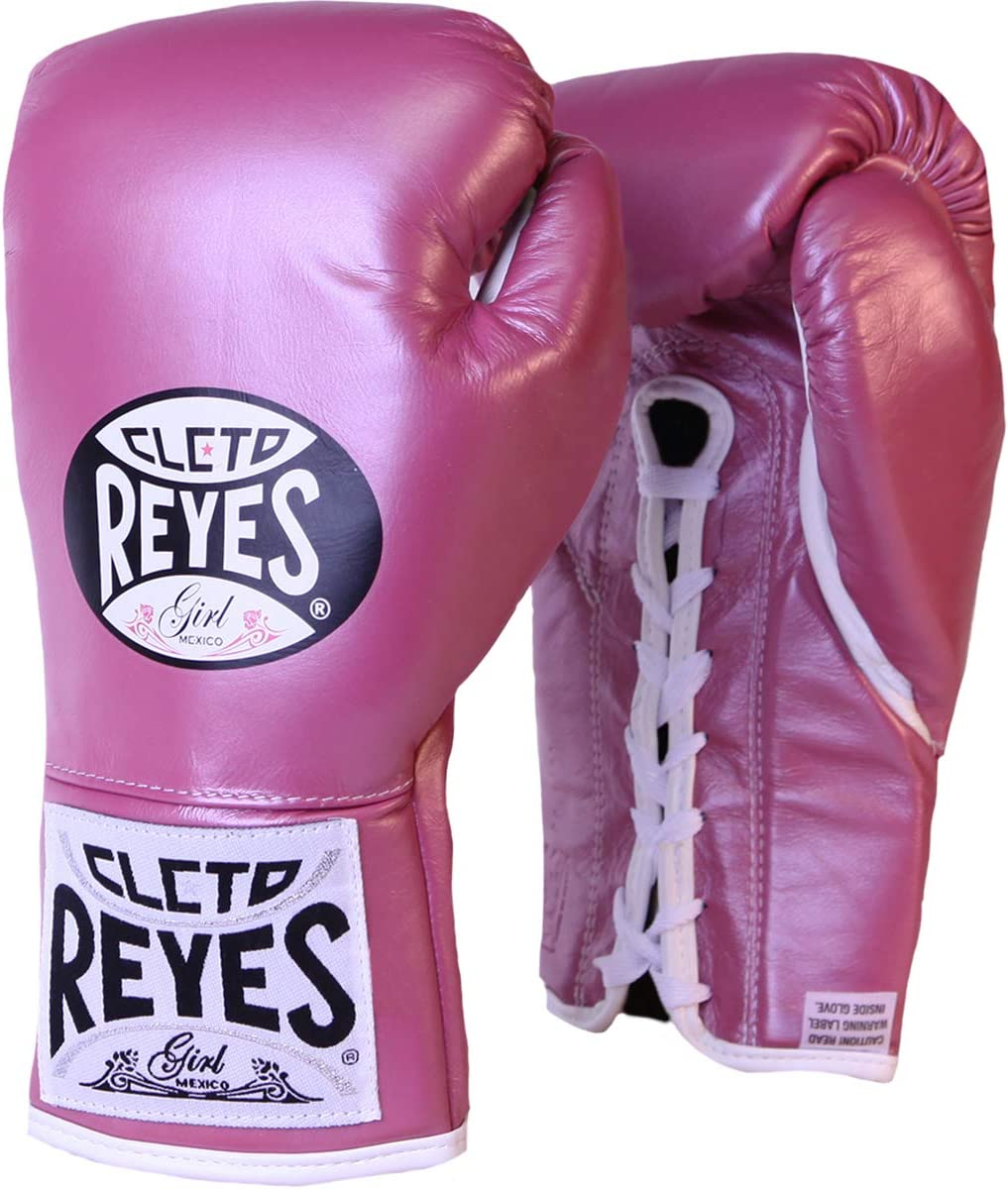 CLETO REYES Women's 定価の67%OFF Official Lace Up oz. Gloves - 8 再販ご予約限定送料無料 Fight Boxing