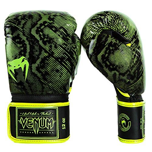 Venum Fusion Boxhandschuhe, Neon Gelb/Schwarz, 8 oz