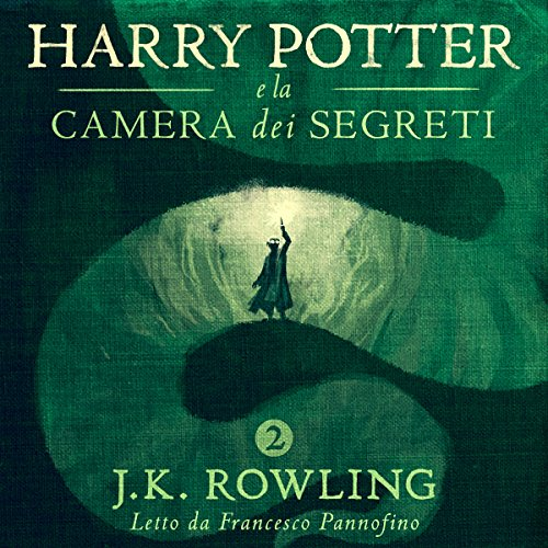 Harry Potter e la camera dei segreti (Harry Potter 2) audiobook cover art