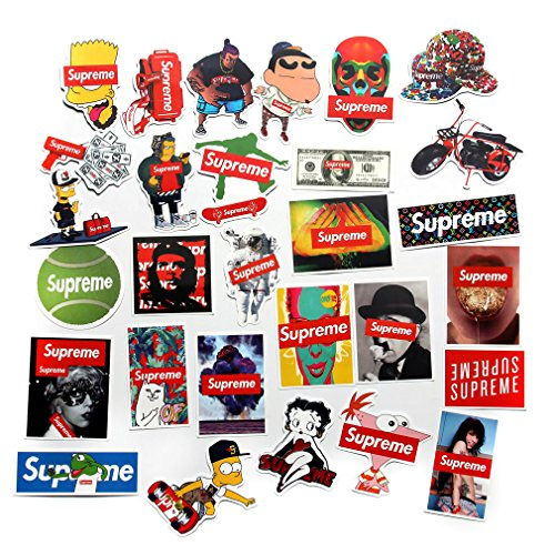 Cool Stickers Pack FNGEEN Laptop Stickers Bomb Motorcycle Bicycle Luggage Decal Graffiti Patches Skateboard Stickers for Laptop Travel Case Skateboard Guitar Car Bike Bumper Decals (Series 50B)