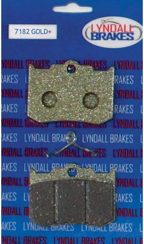Lyndall Racing Brakes Gold Plus Pads Aftermarket Calip for Overseas Limited time for free shipping parallel import regular item Brake