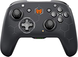 Wireless Gaming Controller, BIGBIG WON Elitist S, 2.4GHz Wireless PC Game Controller Skin-friendly with Turbo, Macro and ...