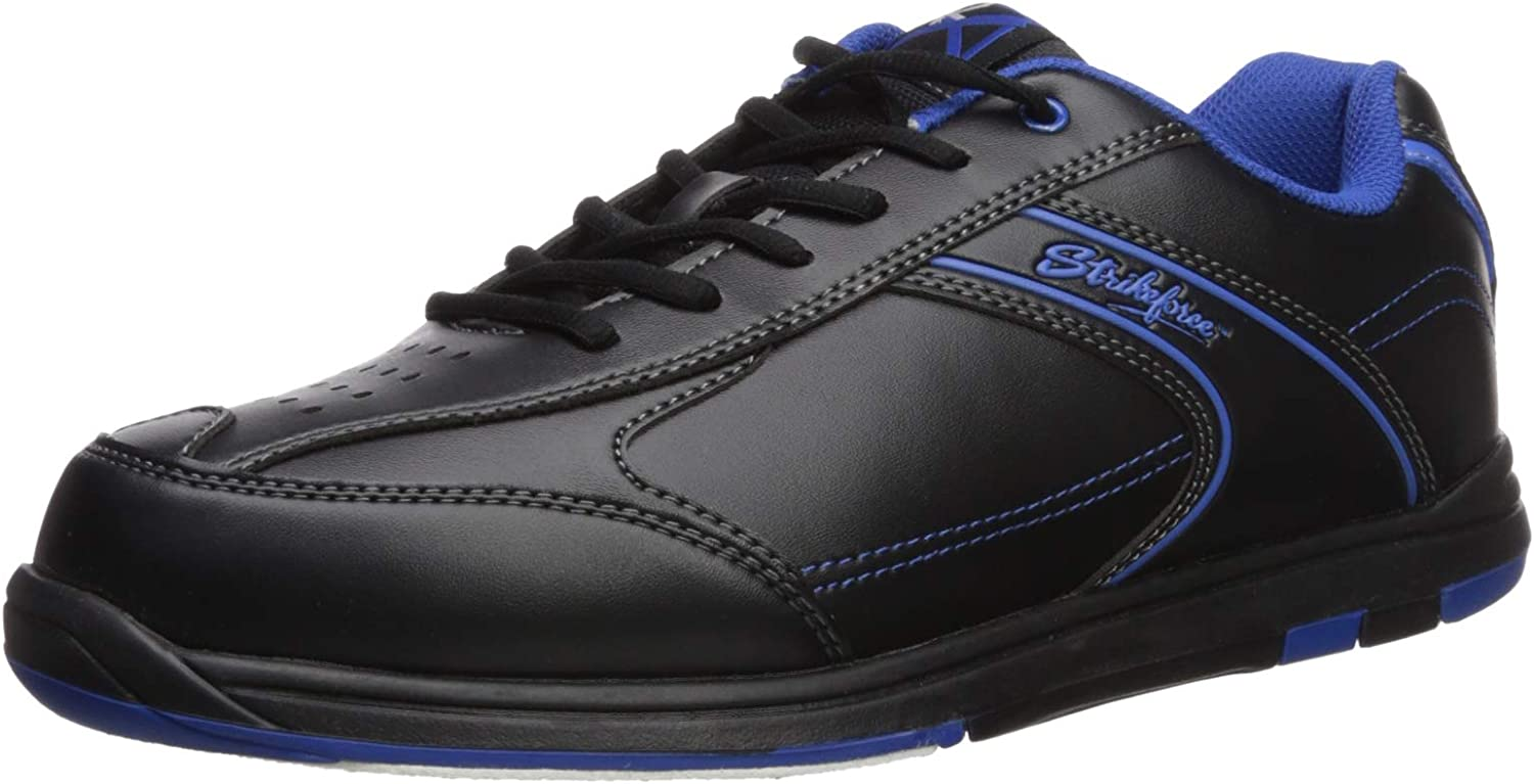 KR Strikeforce M-032-085 Flyer Bowling shoes, Black Mag bluee, Size 8.5