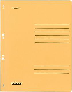 Falken, 80000565001F Paquet de 50 Chemises à oeillets A4 couverture complète - oeillets permettant le classement du dossie...