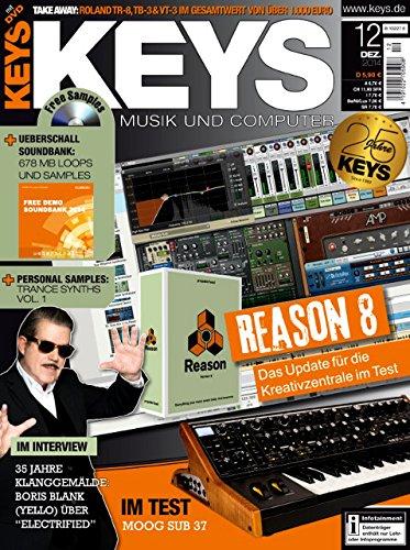 Keys 12 2014 mit DVD - Reason 8 - 678 MB Loops und Samples auf DVD - Personal Samples - Free Loops - Audiobeispiele