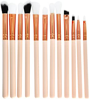 Eyeshadow Makeup Brushes Set, Bloodfin 12 PCS Professional
