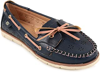 Chumbak Elegant Embrace Navy Loafers - 36