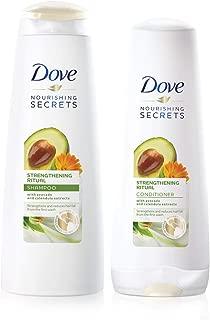 Dove Strengthening Ritual Avocado Shampoo 400ml + Conditioner 320ml