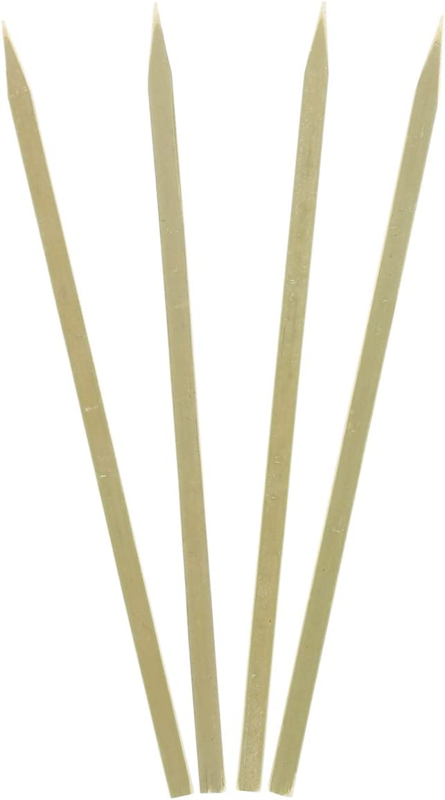 Royal Bamboo 7 Inch Flat Skewers Classic Skewer Grilling and Bombing new work Satay for