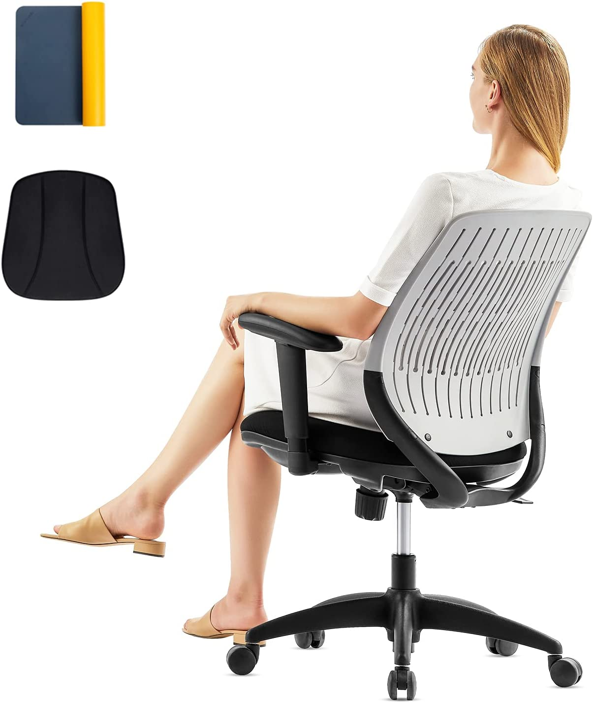 Manufacturer Minneapolis Mall direct delivery Office Desk Chair Ergonomic Lower Home Task w Back