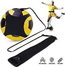 Doact voetbal kick trainer Solo voetbal trainingshulp handen vrij met verstelbare tailleriem voor kinderen beginners kick off trainer