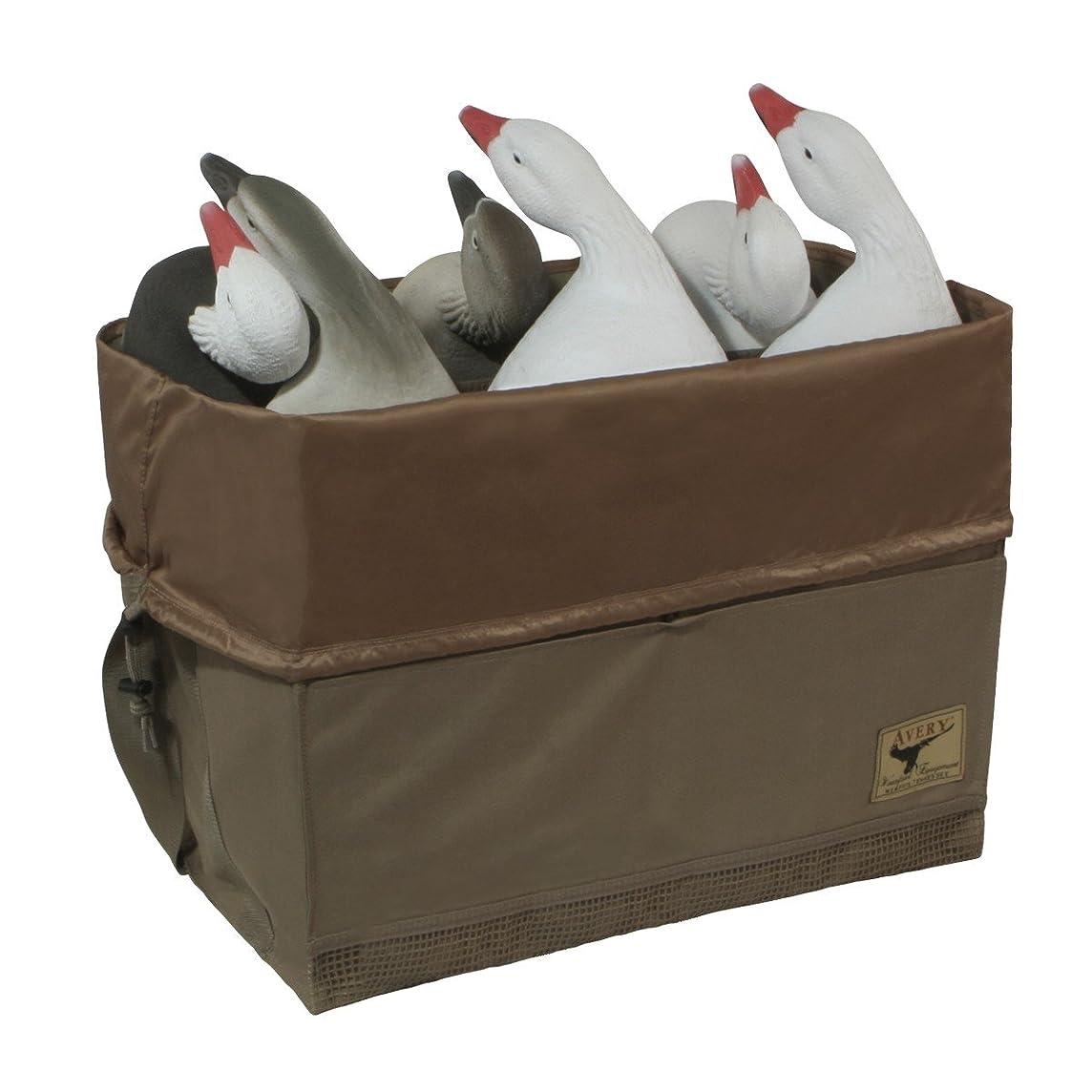 Avery Hunting Gear 6-Slot Mid-Size Full Body Goose Bag-Field Khaki