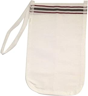 EphesusShop Kessa Hammam Scrubbing Glove Exfoliating Knitted Bath Gloves for Shower, Spa, Massage Body Scrubs, Dead Skin Cell Remover (1 Pieces Kessa)