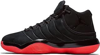 Nike Men's Jordan Super.Fly 2017 Basketball Shoe Black/Red Size 10