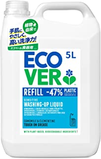 Ecover Washing-Up Liquid, 5 Liter