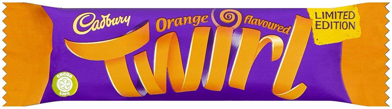 6 x Cadbury Max 45% OFF Twirl Popular popular Orange Chocolate Edition Bars Limited