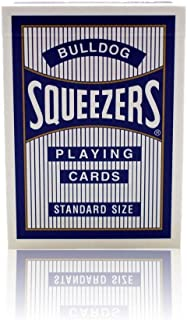 Bulldog Squeezers Playing Cards (Blue Back Playing Cards 1 Pack)