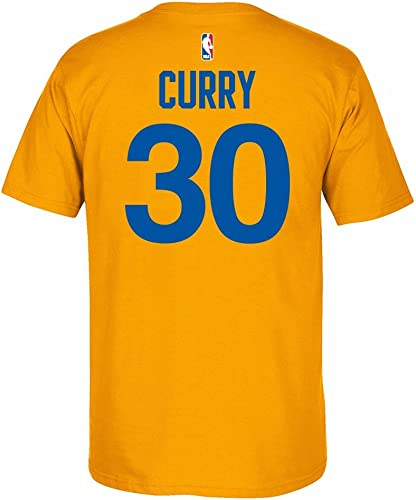 Adidas oren State Warriors Stephen Curry 2011en Bois Dur Classique Throwback T-Shirt