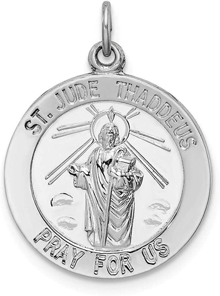 Sterling Limited time trial price Silver Saint Thaddeus Max 64% OFF Jude Medal