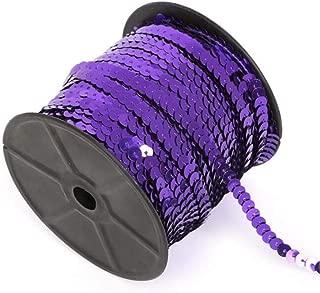 3 yd Expo International SIR6168PR Zali Sequin with Sparkle Edge Trim Spool Purple