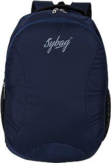 Sybag Navy Blue Casual Laptop Bag