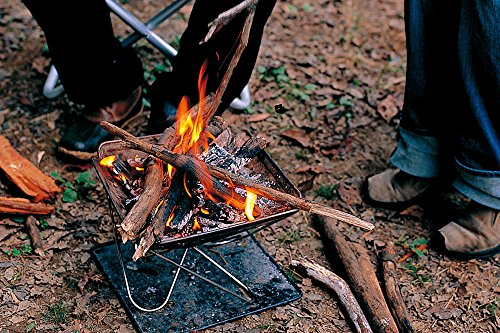 ブッシュクラフトにおすすめの焚き火台5選|選び方や豆知識ものサムネイル画像
