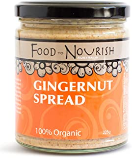 Food to Nourish Food to Nourish Organic Gin Gernut Spread 225 g