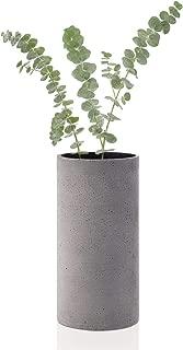 Blomus Coluna Dark Gray Vase-Medium,