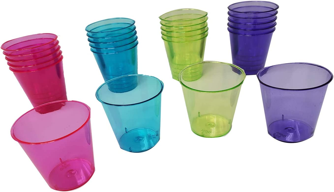 Max 73% OFF Shot Glasses Hard Durable Plastic For Disposable Max 44% OFF 1.1oz. Party