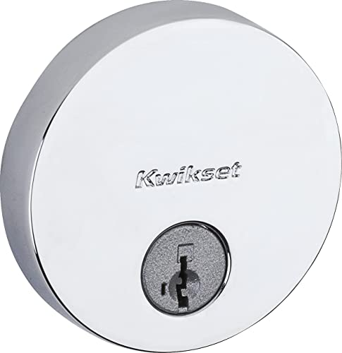 high quality Kwikset 92580-025 Uptown discount deadbolt, Polished lowest Chrome sale