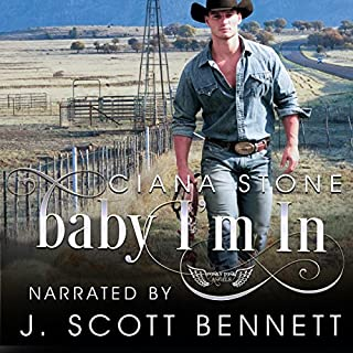 Baby I'm In audiobook cover art