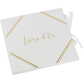 Santex 70085 Livre dor Blanc