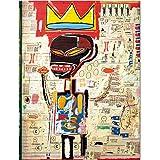 Gorgeous Store Puzzle - Jigsaw Jean-Michel Basquiat 300/500/1000 Piezas para Adultos Manga Figura Puzzles Juguete Familia Amigos Regalo Anime Fans (Size : 500PC)