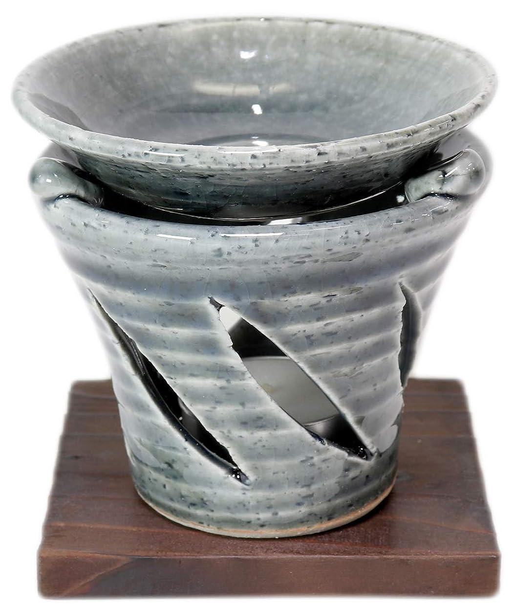 ボタンに渡って遅い香炉 京織部 茶香炉 [R9.5xH9.7cm] HANDMADE プレゼント ギフト 和食器 かわいい インテリア