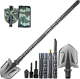 ANTARCTICA Military Folding Shovel Multitool Compact Backpacking Tactical Entrenching..