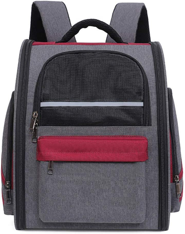 Pet Carrier Backpack NEW Mesh Top Sided Opening Extendable Manufacturer OFFicial shop Bac Soft