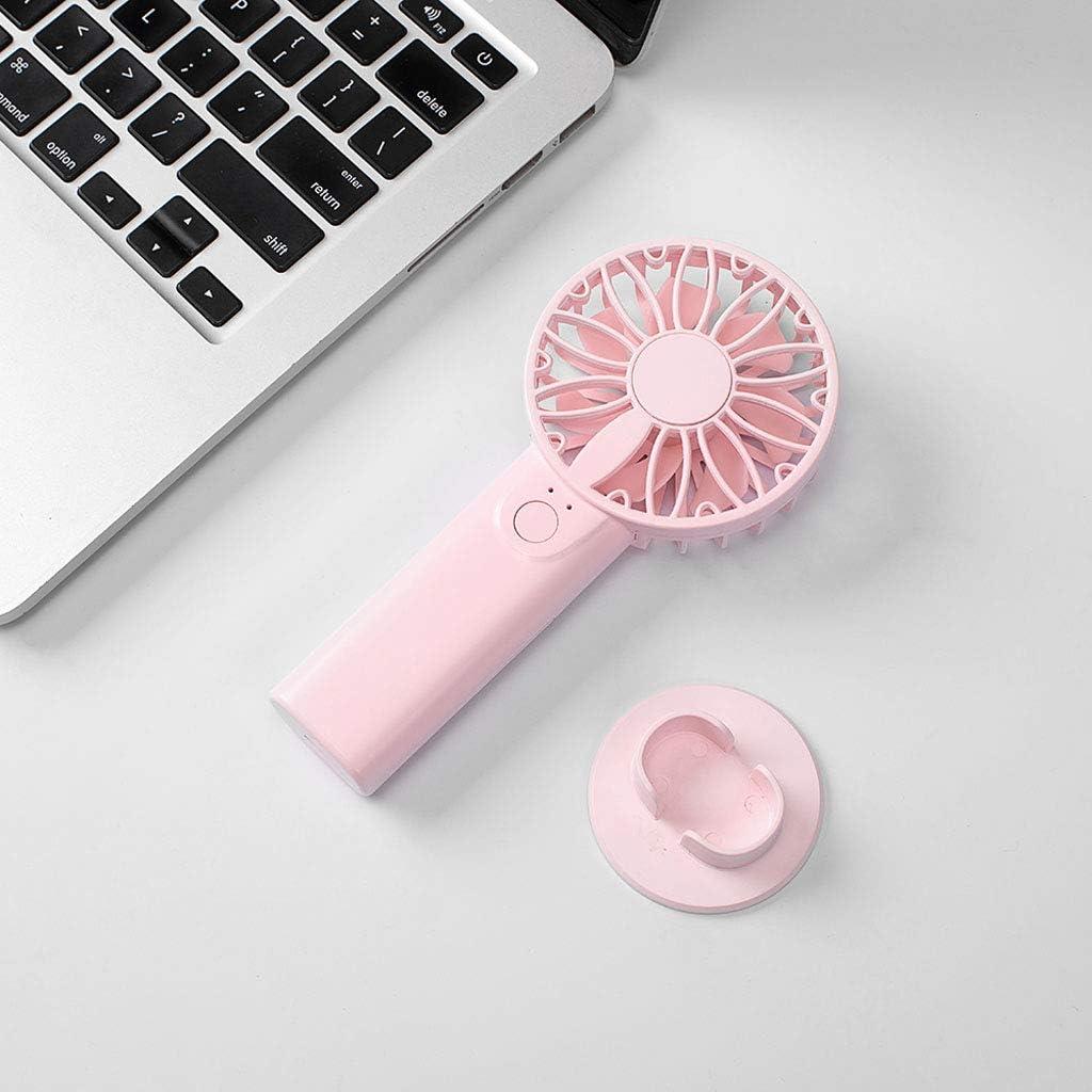 mit 2 x AA-Batterien rose TY-UNLESS Reise-Ventilator f/ür den Schreibtisch One size