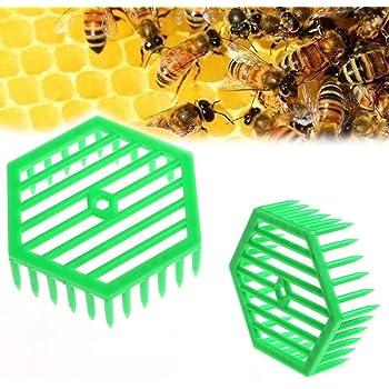 10pcs Plastic Queen Cage Clip Bee Catcher Beekeeper Beekeeping Tool