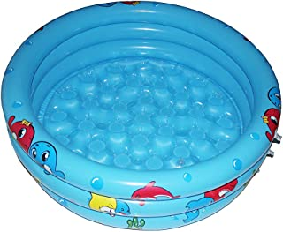 GreenItem Inflatable Pool Baby Swimming Pool by 2018 Durable Friendly PVC 36 x 10 Inch Portable Outdoor Indoor Children Basin Bathtub Kids Pool water play Ball Pit (blue)