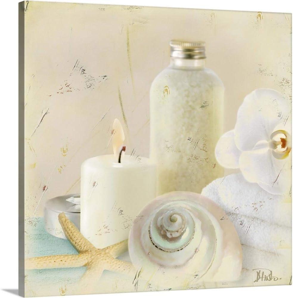 Silver Max 69% Free Shipping Cheap Bargain Gift OFF Bath I Canvas Wall Art Artwork Seashell Print