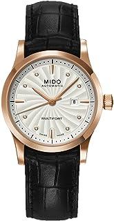 MIDO - Multifort M0050073603620 - Reloj para Mujeres, Correa de Cuero Color Negro