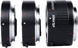 Andoer DG-C enfoque automático AF TTL tubos de extensión de Ring 12 mm 20 mm 36 mm Set Metal Mount con llantas para Canon EF EF-S 35 mm objetivo